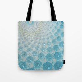 Ice Palace Fractal Art Tote Bag