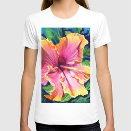 Tropical Bliss Hibiscus T-shirt