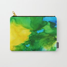 Tropical Flow Carry-All Pouch