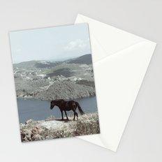 patmos scene Stationery Cards