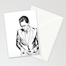 The Night Manager Tom Hiddleston in Smart casual Stationery Cards