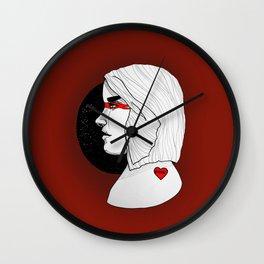 Sith babe I Wall Clock