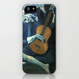 The Old Guitarist - Picasso iPhone Case