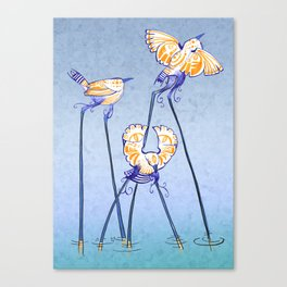 Thousand-Eyed Waders Canvas Print