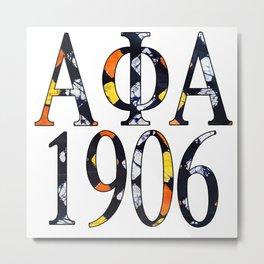 A Phi A Classic Design Metal Print
