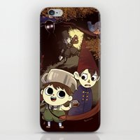over the garden wall iPhone & iPod Skins featuring over the garden wall by Tae V