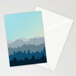 Face This Mountain (No Text) Stationery Cards