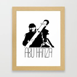 Abu Hamza Framed Art Print