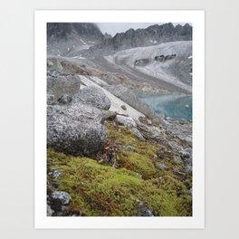 AK Pennyroyal Glacier Art Print