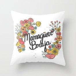 Maduro eres un Throw Pillow
