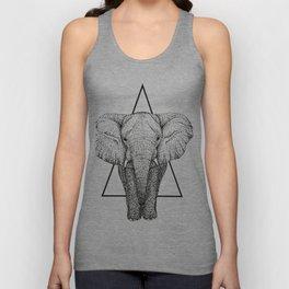 Wisdom Elephant Unisex Tank Top