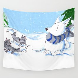 Snowpack Wall Tapestry