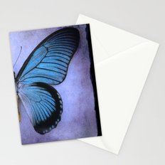 Butterfly Wing of Blues Stationery Cards