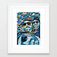 christian schloe Framed Art Prints featuring Christian by Pavel Kuragin