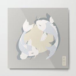 Koi fish 005 Metal Print