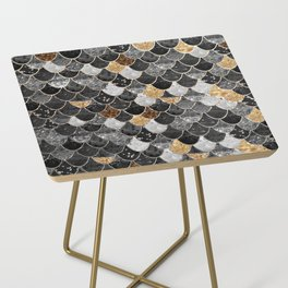 REALLY MERMAID BLACK GOLD Side Table