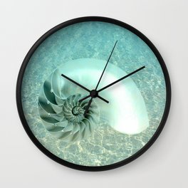 From the Bottom of the Sea Wall Clock