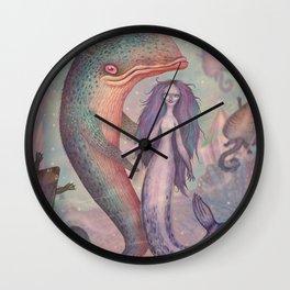 Pontus and Thalassa Wall Clock