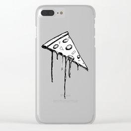 Monochrome Za Clear iPhone Case