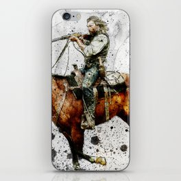 Western Outlaw Cullen Bohannon iPhone Skin