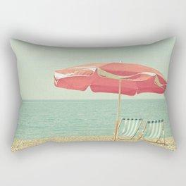 Deserted Beach Rectangular Pillow