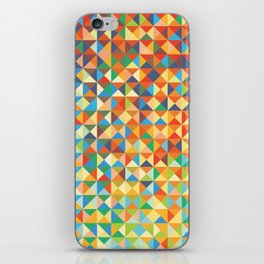 Triangles & Colors iPhone Skin