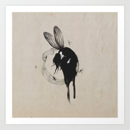 ///Dragonfly Women/// Art Print