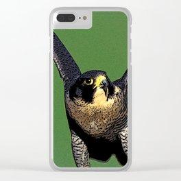Falcon Follies Clear iPhone Case