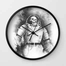 The Spooky Kook from Outer Space Wall Clock