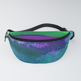 Encaustic Abstract No.27C by Kathy Morton Stanion Fanny Pack