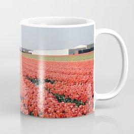 tulips field Coffee Mug