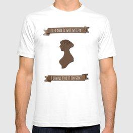 I always find Austen too short T-shirt