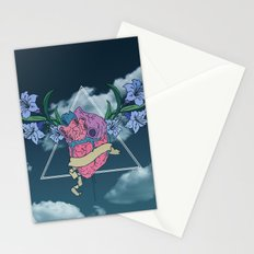 Heart In The Sky Stationery Cards