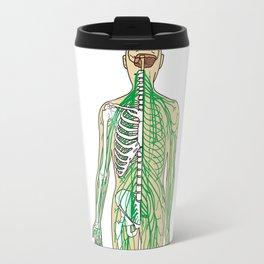 Human neural pathways Travel Mug