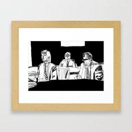 And How Should I Presume? Framed Art Print