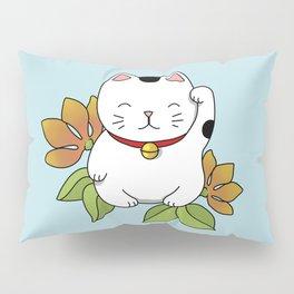 Lucky Cat Pillow Sham