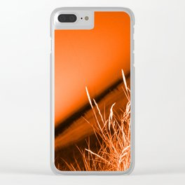 Sunrise over Southwald UK beach Clear iPhone Case