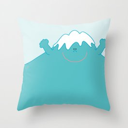 Mt. Fuji  Throw Pillow