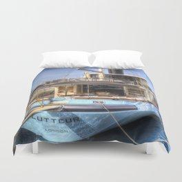 Lutteur Motor Yacht Duvet Cover