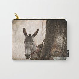 The curios donkey Carry-All Pouch