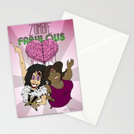 Zombie Fabulous Stationery Cards