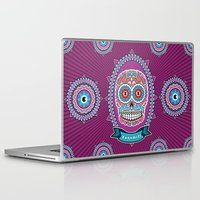 mexican Laptop & iPad Skins featuring Mexican Skull by Xonomitl