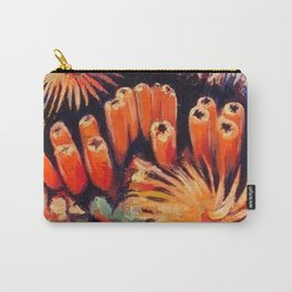 Tube Coral Carry-All Pouch