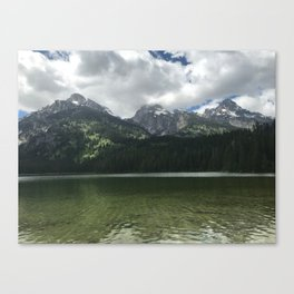 Taggart Lake in the Tetons Canvas Print