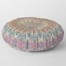 Gentle Touch Mandala Art Floor Pillow