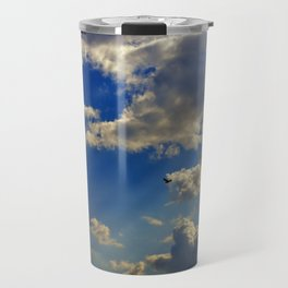 crepuscular rays Travel Mug