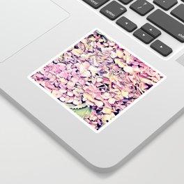 Pink fLowers Sticker