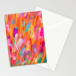 Floral abstract 55 Stationery Cards