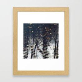 Water Trees Framed Art Print