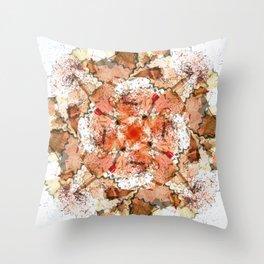 kaleidoscope - Pencil Sharpenings Throw Pillow